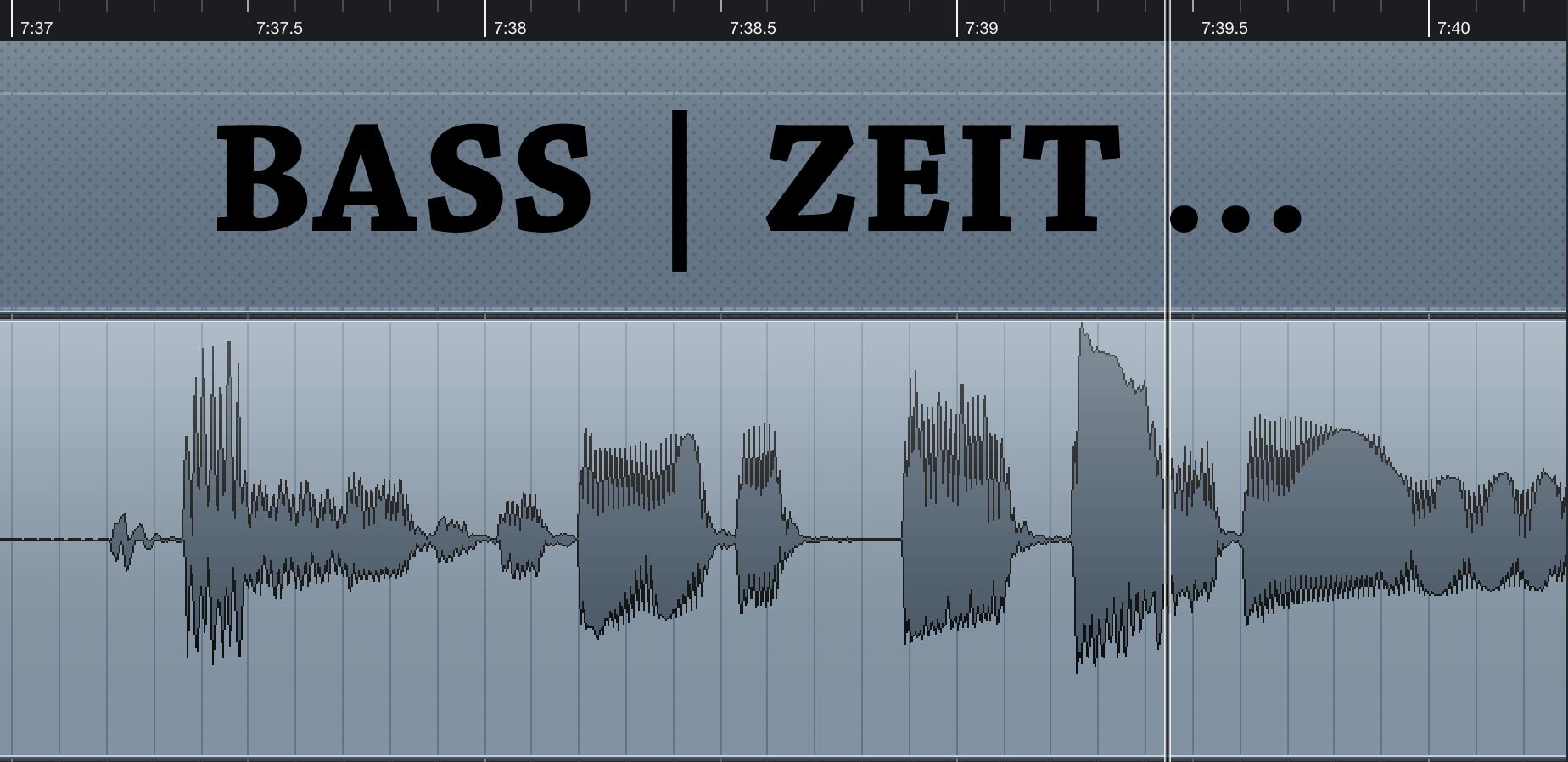 Bass|Zeit
